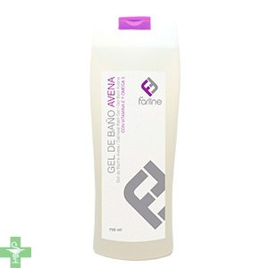 FARLINE GEL DE BAÑO DE AVENA - (750 ML )