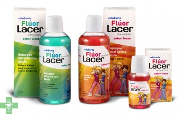LACER COLUTORIO FLUOR SEMANAL 0,2 por ciento - (FRESA 100 ML )