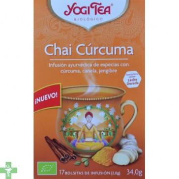 Chai Cúrcuma infusión 17 bolsitas YOGI TEA®