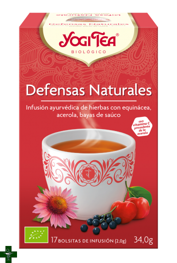 Defensas Naturales 17 bolsitas YOGI TEA®
