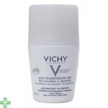 Vichy Antitranspirante 48 Horas Piel Sensible o Depilada