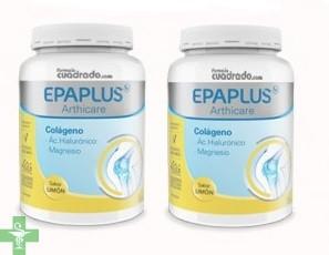 Epaplus  Pack  Colágeno + Magnesio Sabor  Limón  2 x 332 g