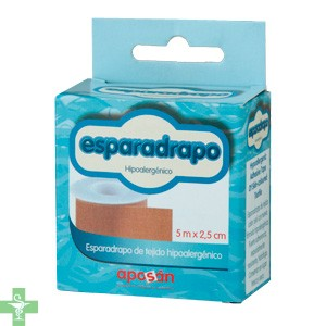 ESPARADRAPO - APOSAN (PIEL 5 X 2,5 CM )