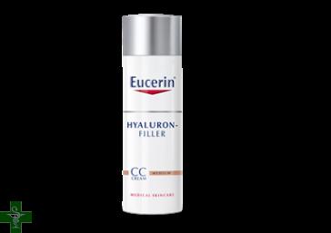 Eucerin Hyaluron Filler CC Cream Tono Medio FPS 15  50ML