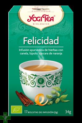 Felicidad 17 Bolsitas Infusion YOGI TEA®