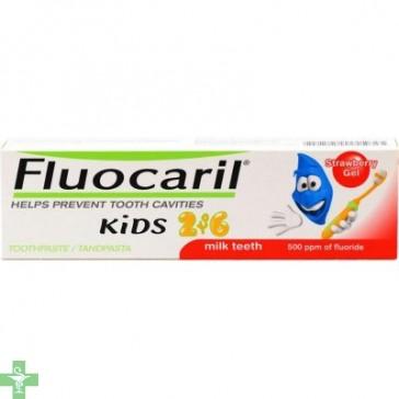 FLUOCARIL KIDS 2-6 AÑOS - (50 ML FRESA )