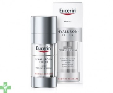 Eucerin Hyaluron Filler Noche Peeling & Serum 30 ml