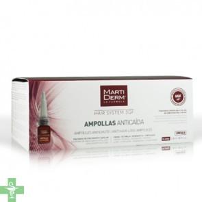 Martiderm Hair System 14 Ampollas 3 ml