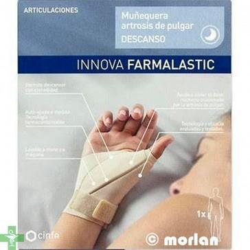 Innova Farmalastic Muñequera Artrosis de Pulgar Descanso Derecha Talla G