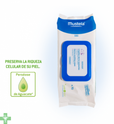 Mustela Toallitas Dermo-suavizantes Con Aloe 70 Uds
