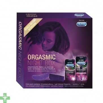 Durex Pack Intense Orgasmic Night Box
