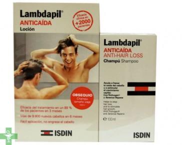 LAMBDAPIL ANTICAIDA LOCION - (3 ML 20 MONODOSIS) + REGALO Champú anticaída 100ml