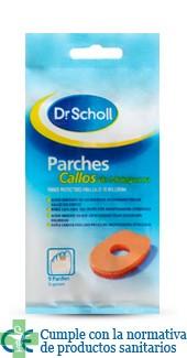 DR SCHOLL PARCHES CALLOS MOLESPUMA - (ESCUDO )