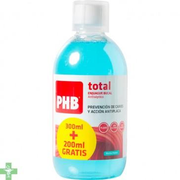 PHB Total Enjuague Bucal Antiseptico 500ml