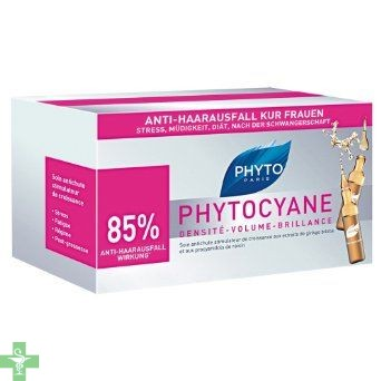 Phytocyane Tratamiento Anticaída Femenino 12 Ampollas