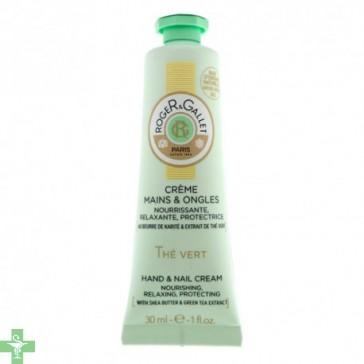 Roger&Gallet The Vert Crema de Manos y Uñas 30 ml