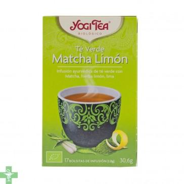 Té Verde Matcha Limón 17 bolsitas de infusión YOGI TEA®
