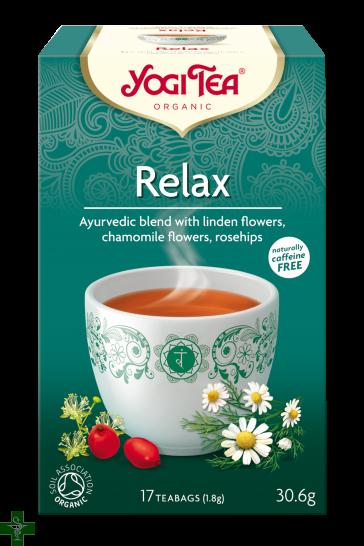 Relax 17 Bolsitas de Infusión YOGI TEA®