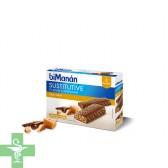 Bimanan Sustitutive Sabor Toffee  8 Barritas