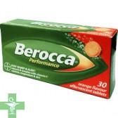 BEROCCA PERFORMANCE - (NARANJA 30 COMP EFERV )