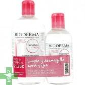 Bioderma Pack Agua Micelar Sensibio 500 ml + 250 ml