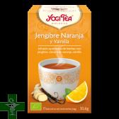 Jengibre Naranja y Vainilla YOGI TEA® 17 bolsitas