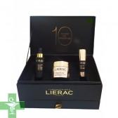 Lierac Cofre de Navidad Premium Crema Sedosa, Contorno de Ojos y Serum Regenerante