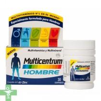 MULTICENTRUM HOMBRE - (30 COMP )