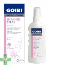 GOIBI ANTIMOSQUITOS INFANTIL - REPELENTE SPRAY USO HUMANO (100 ML )