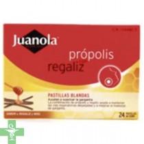 JUANOLA PASTILLAS BLANDAS PROPOLIS - (48 G SABOR REGALIZ Y MIEL )