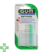 Gum Soft Picks Original 40 U