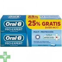 ORAL-B PRO EXPERT MENTA FRESCA - (PACK 125 ML 2 U)