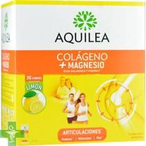 Aquilea Colágeno + Magnesio 30 Sobres Sabor Limón.