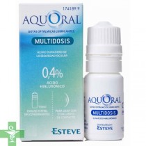Aquoral Multidosis 0,4% 10ml