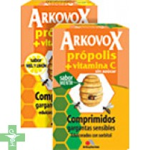 ARKOVOX PROPOLIS + VITAMINA C - (20 COMP MIEL Y LIMON )