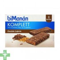 Bimanán Barritas De Chocolate Crujiente 8 Barritas