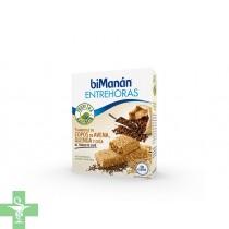Bimanan Entrehoras 5 barritas de avena, quinoa y chía al toque de café.