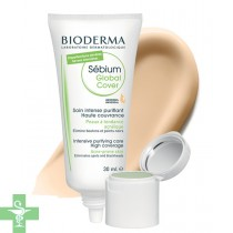 Bioderma Sébium Global Cover 30ml + 2g