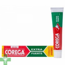 Corega crema fijadora extra fuerte tamaño grande 70gr