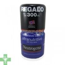 Neutrogena Duplo Bálsamo Ultra-Nutritivo 300+300ml Tarro Azul