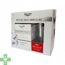 Eucerin Hyaluron Filler FPS 15, Piel Seca 50 ml + REGALO Contorno de ojos
