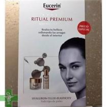 Eucerin Cofre Hyaluron Filler Elasticity  Crema 50ml + Aceite Facial 50 ml