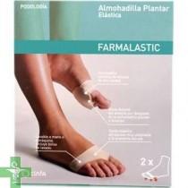 ALMOHADILLA PLANTAR - FARMALASTIC GEL DE SILICONA (T- 36-38 )
