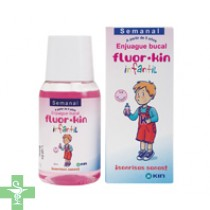 Fluor-kin infantil semanal enjuague bucal 100ml