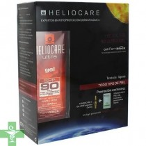 Pack Heliocare Ultra gel spf 90 50ml + Regalo Endocare C Peel Gel 3 sobres  + Endocare C Oil Free 7 ampollas