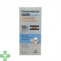 Fotoprotector ISDIN Pediátrico Fusion Fluid Mineral Baby, SPF 50, 50ml