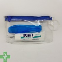 KIN Kit Dental Viaje Cepillo + Pasta 25 ml