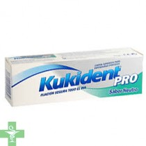 KUKIDENT PRO DOBLE ACCION - CREMA ADH PROTESIS DENTAL (NEUTRO 60 G )