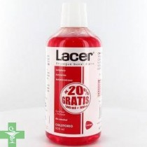 Lacer colutorio sin alcohol 500ml + REGALO 100ml