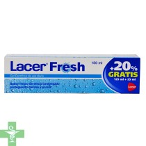 Lacer fresh gel dentífrico 125ml + regalo 25ml